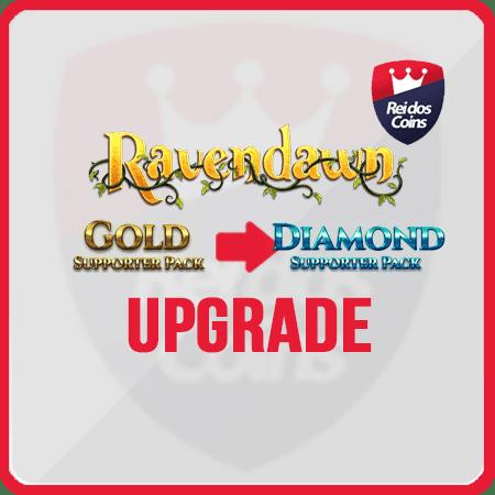 Ravendawn UPGRADE Gold ao Diamond
