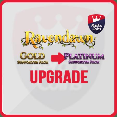Ravendawn UPGRADE Gold ao Platinum