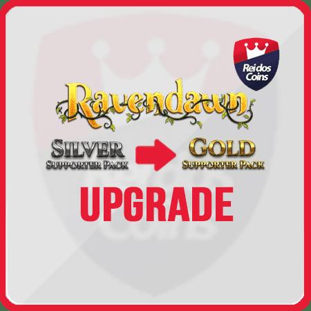 Ravendawn UPGRADE Silver ao Gold