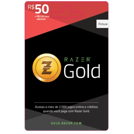 Razer Gold R$ 50