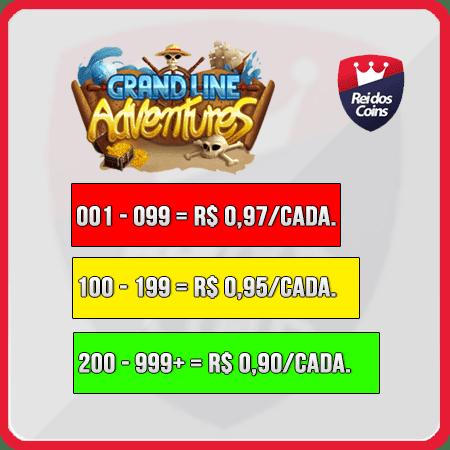 Grand Line Adventures GLA 01 Gema